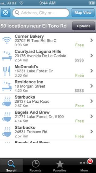 Wi-Fi Finder pour iPhone, iPod touch et iPad dans l'App Store sur iTunes