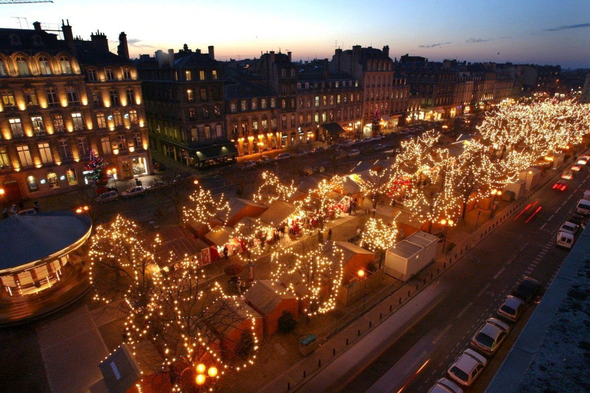 marche de noel bordeaux 2018 Top 8 des plus beaux marchés de Noël en France marche de noel bordeaux 2018