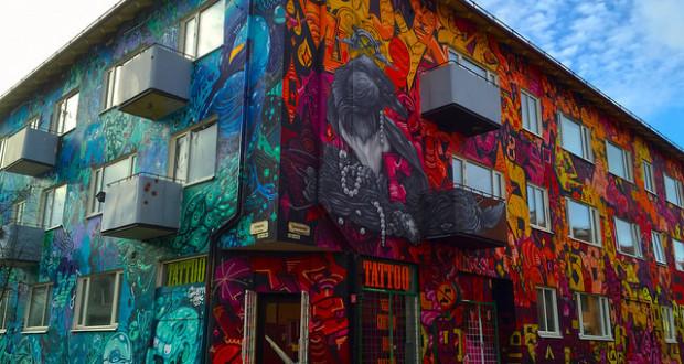 Cinq lieux d di s au street art paris - Galerie street art paris ...