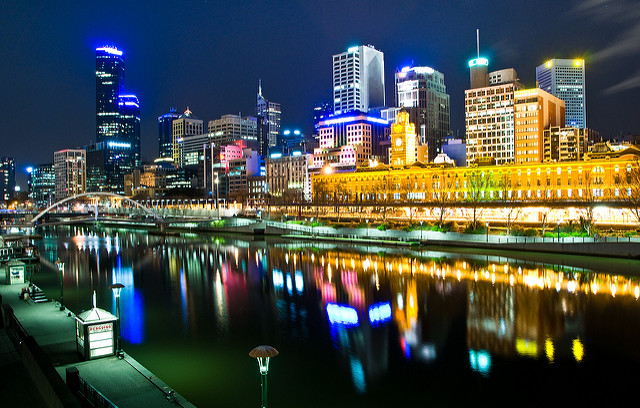 Img3_Hai Linh Truong_Melbourne, Australia by night