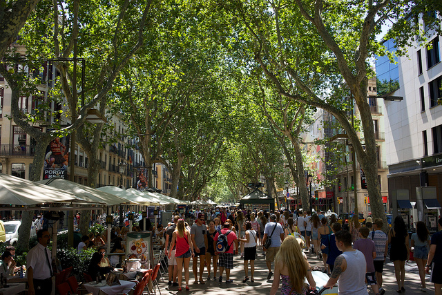 Barcelone - Alain Tougas