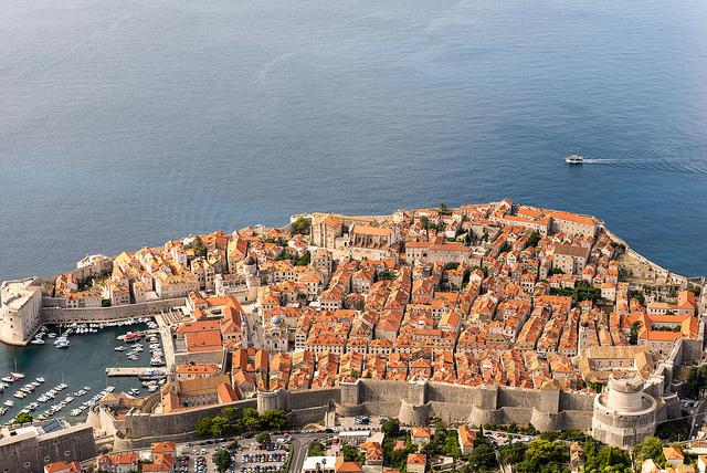 Dubrovnik, Croatie Gilles