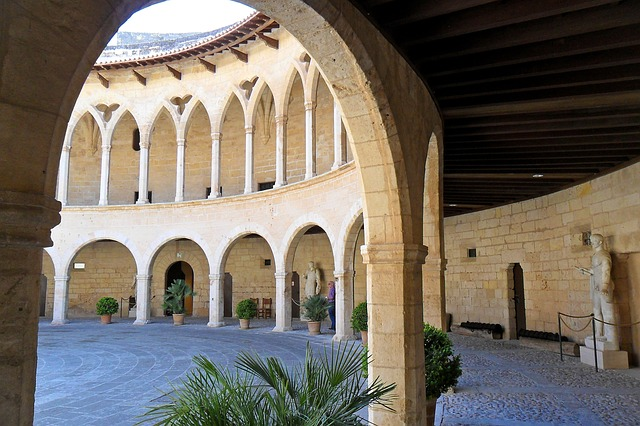Majorque-castellbellver-chateau majorque