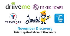 TOP 5 des start-up colloboratives du mois de Novembre (1)