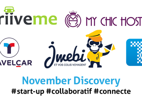 TOP 5 des start-up colloboratives du mois de Novembre (1)
