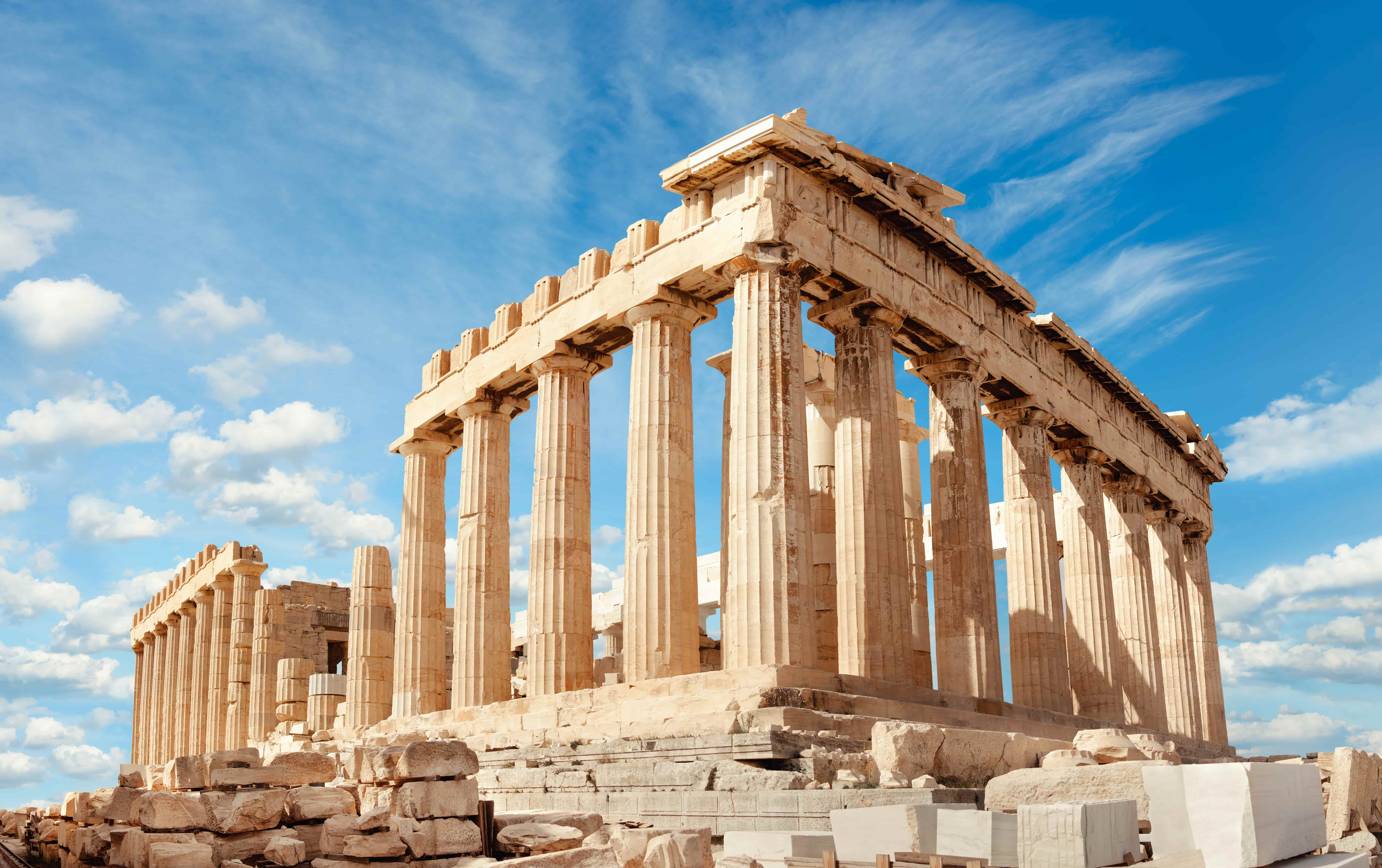 Athènes_Grece_Parthenon on the Acropolis in Athens, Greece