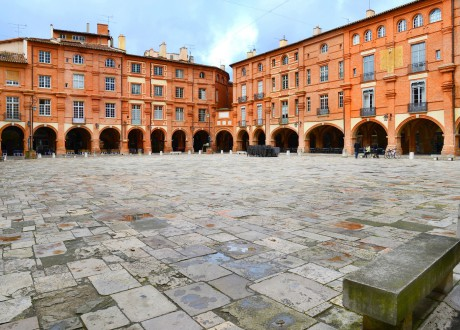 Place Nationale, Montauban / Südfrankreich