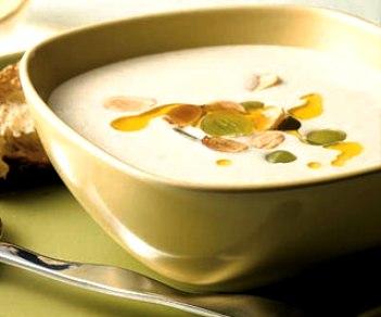 Sopa de almendra