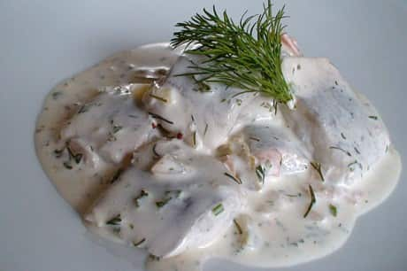 Hering in Dill sauce-min