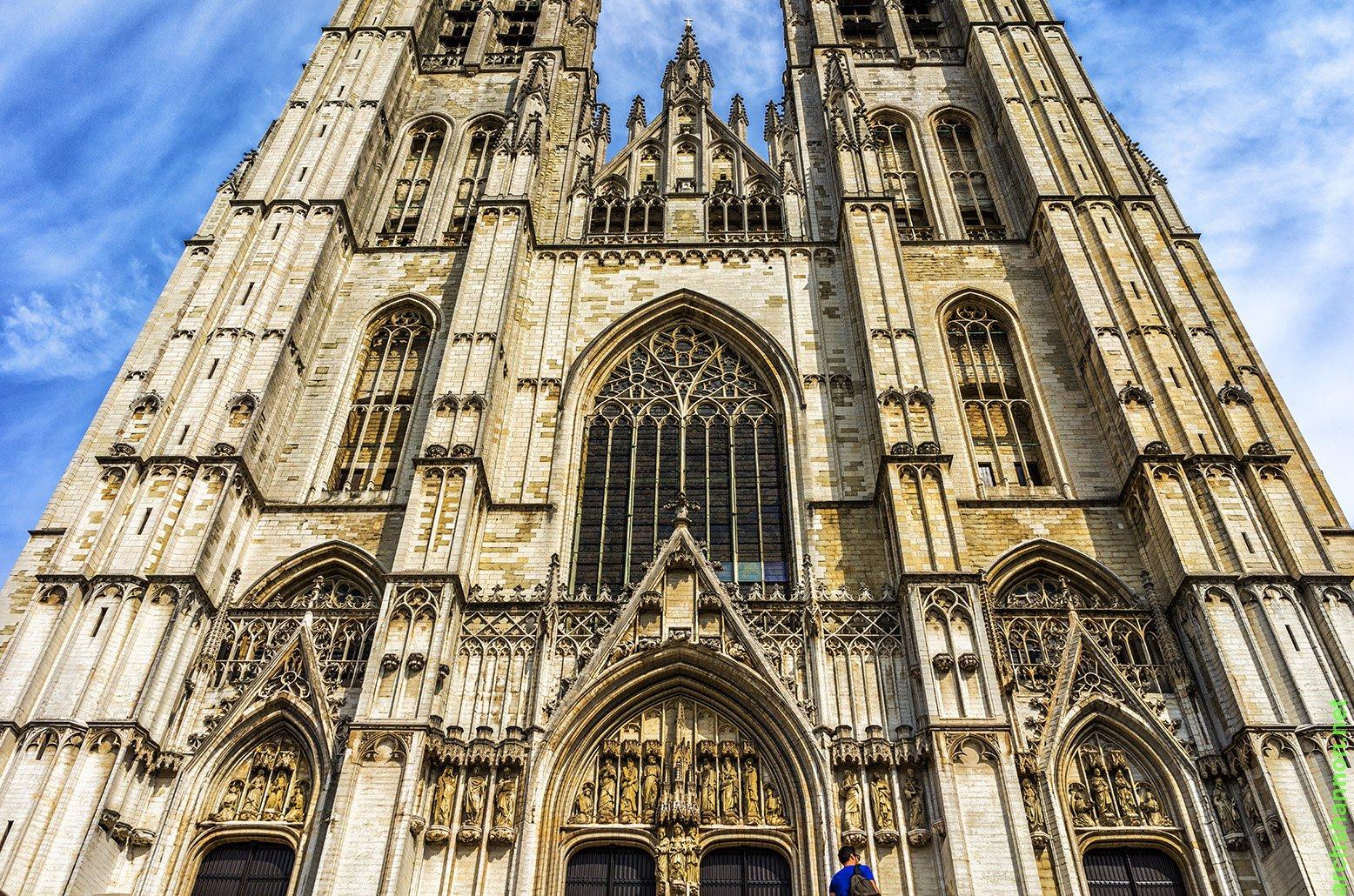 31 - bruxelles - cathedrale des st michel et gudule