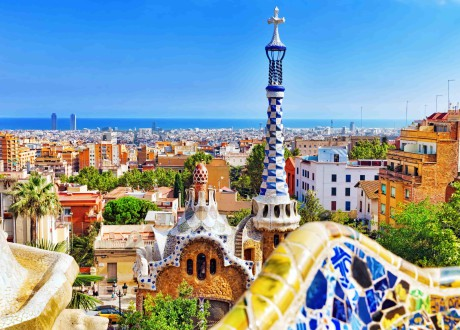 Barcelone_Espagne_Gorgeous and amazing Park Guel in Barcelona-min