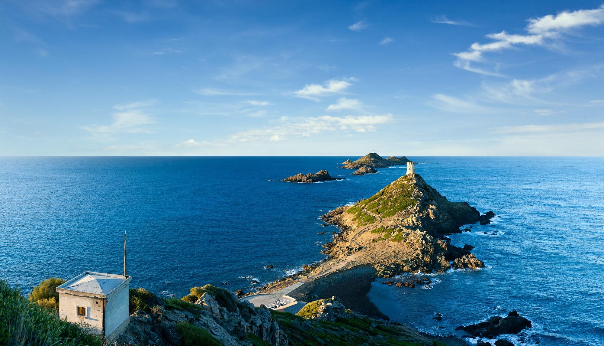 îles Sanguinaires, Corse