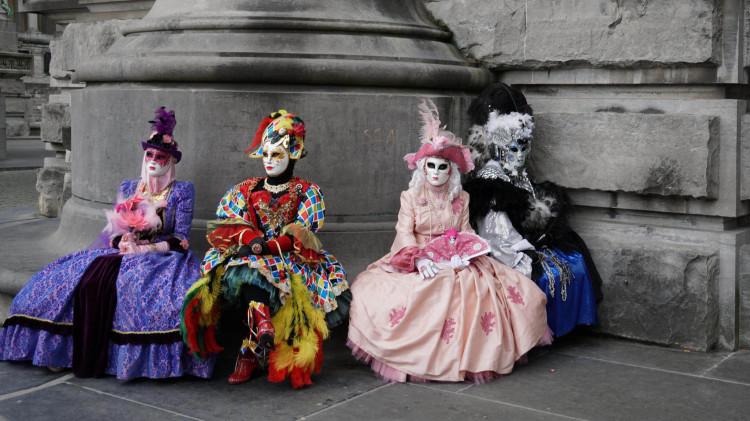 Les Costumes et masques du Carnaval de Venise