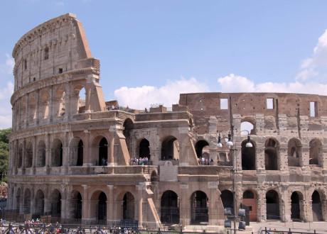 Visite du Colisée à Rome