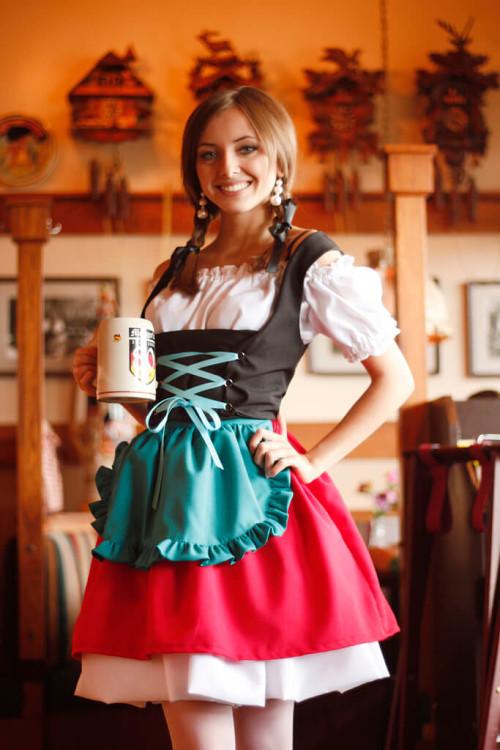 oktoberfest ou fête de la bière à Munich