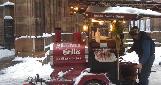 Le marché de Noël de Strasbourg, lieu de festivités