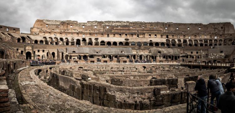 Vasite du Colisée à Rome en Italie