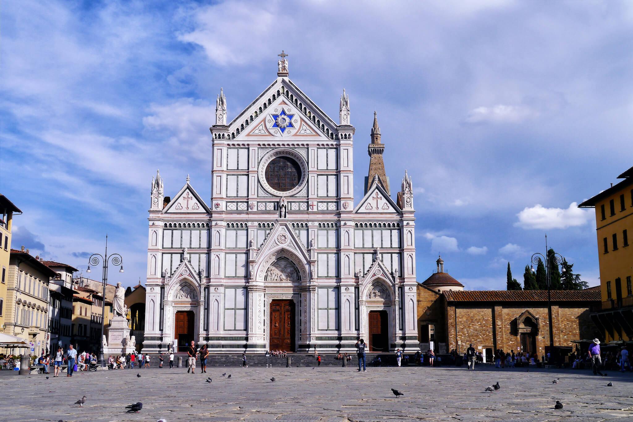 Visiter la Basilique Santa Croce lors de votre séjour à Florence