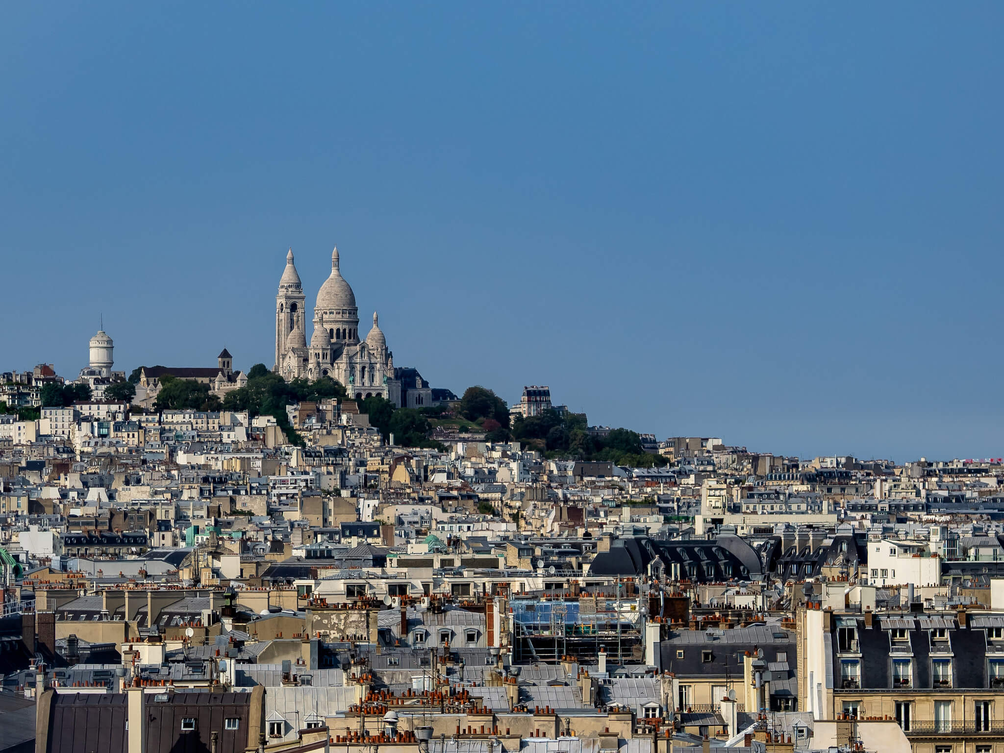 La Basilique du Sacré coeur lors de votre séjour à Paris