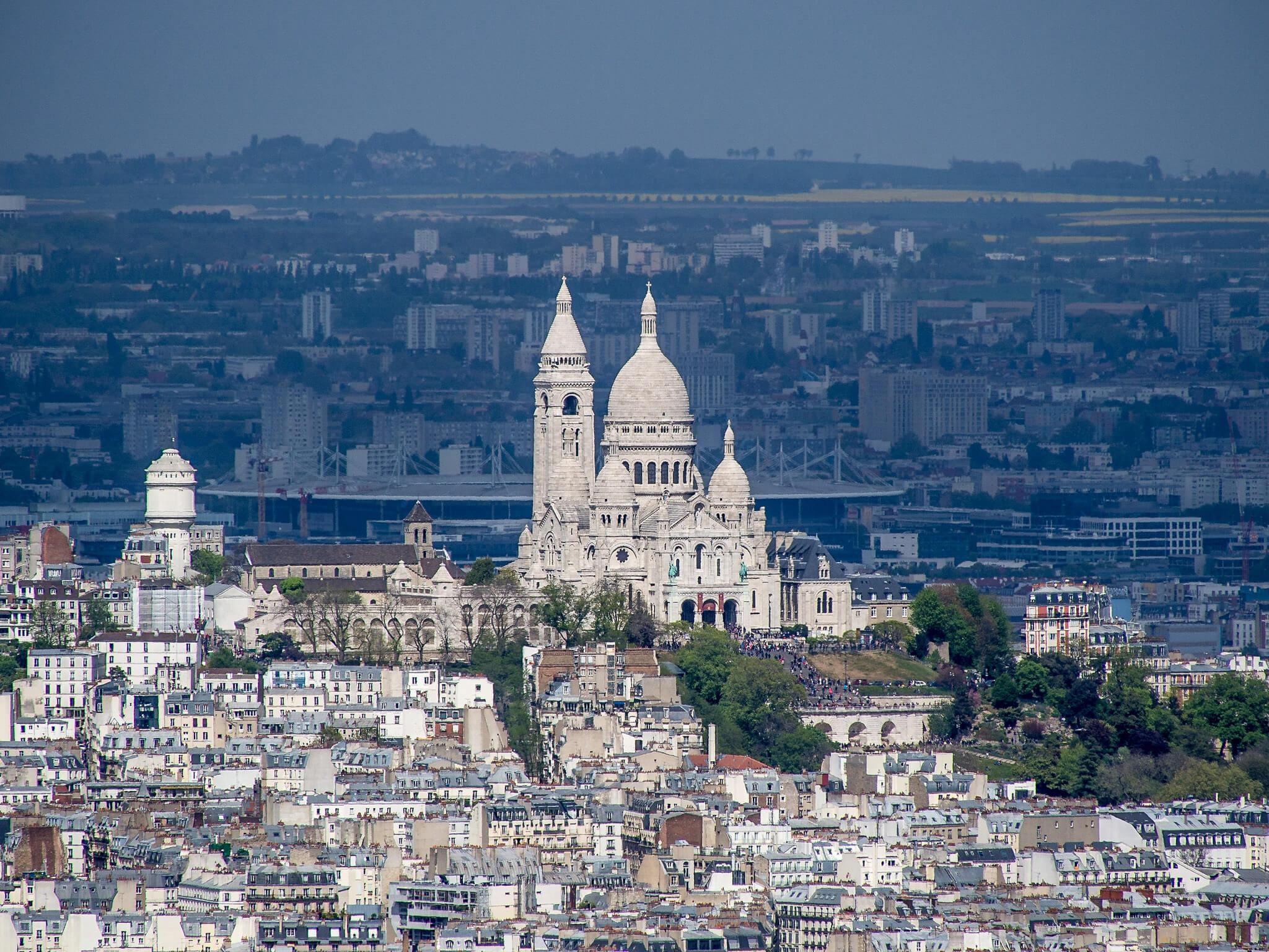la Basilique du sacré cœur de Paris
