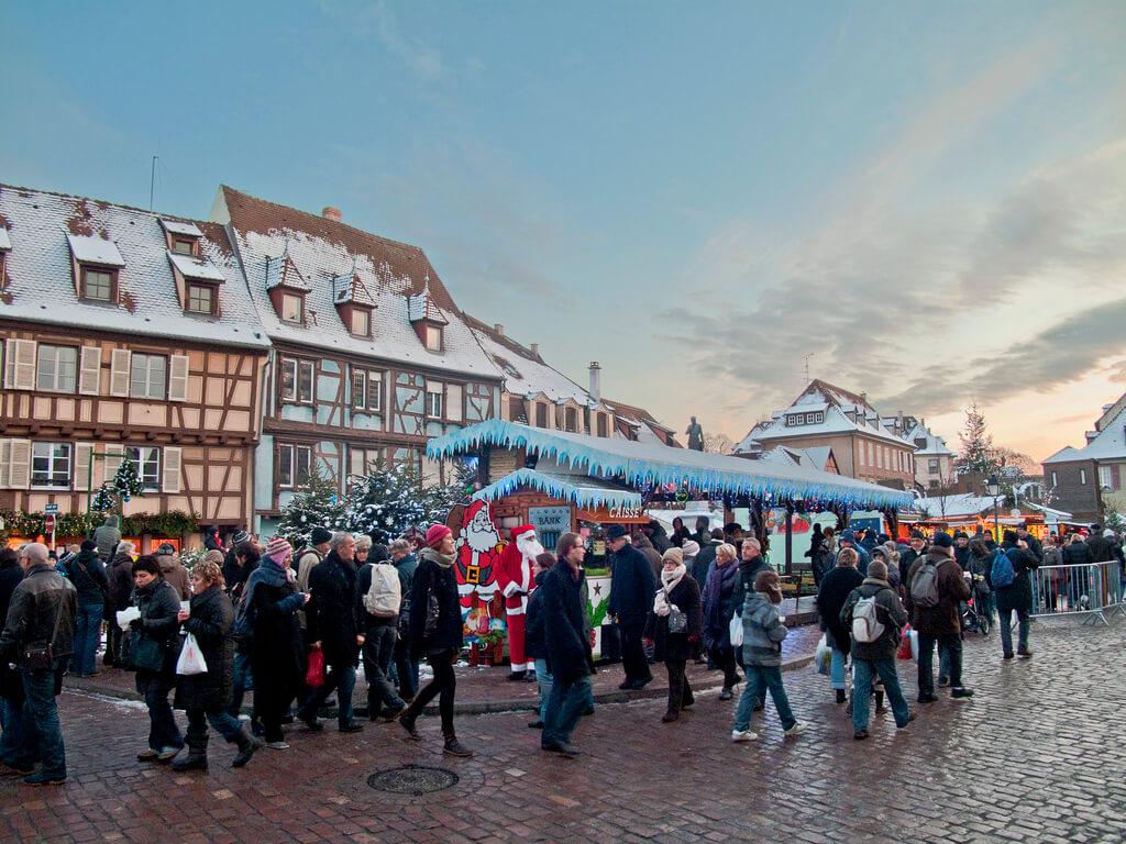 Les plus beaux marchés de Noël d'Alsace - Colmar