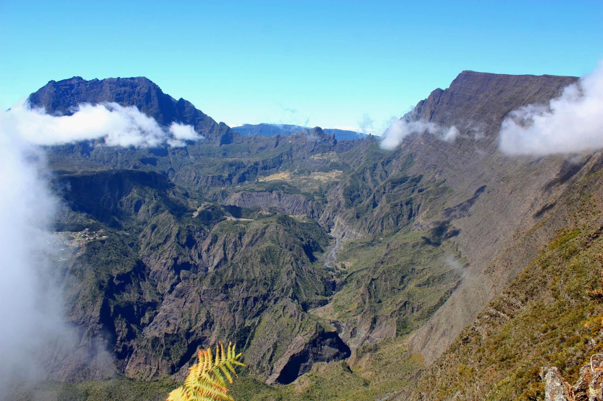Le crique de Mafate incontournable de l'île de la Réunion