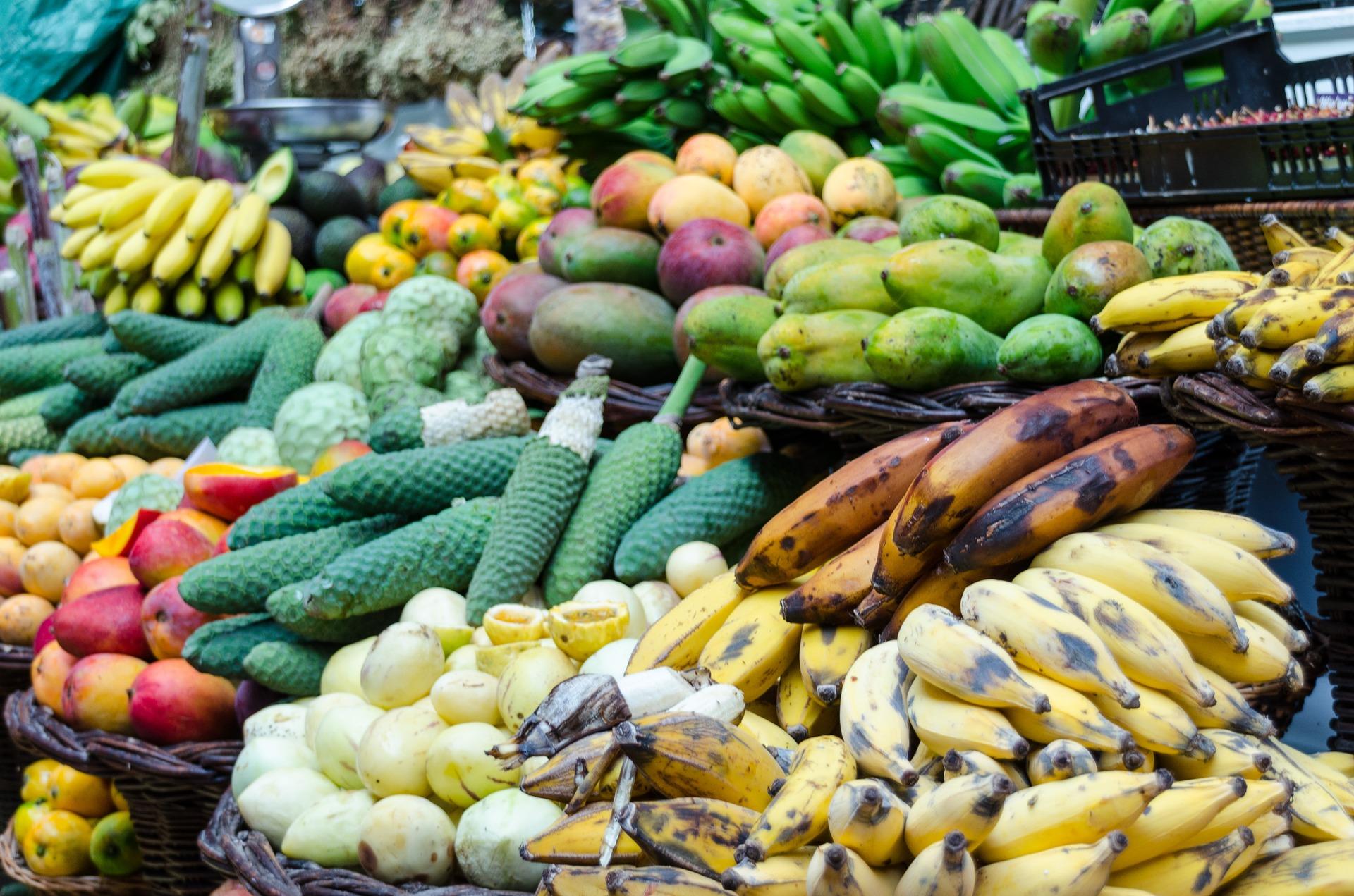Fruits marché