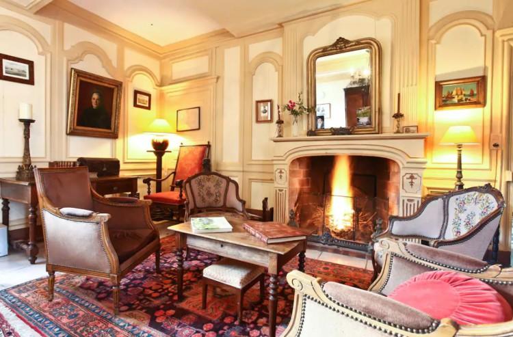 Chambre privée au Manoir de la Baronnie