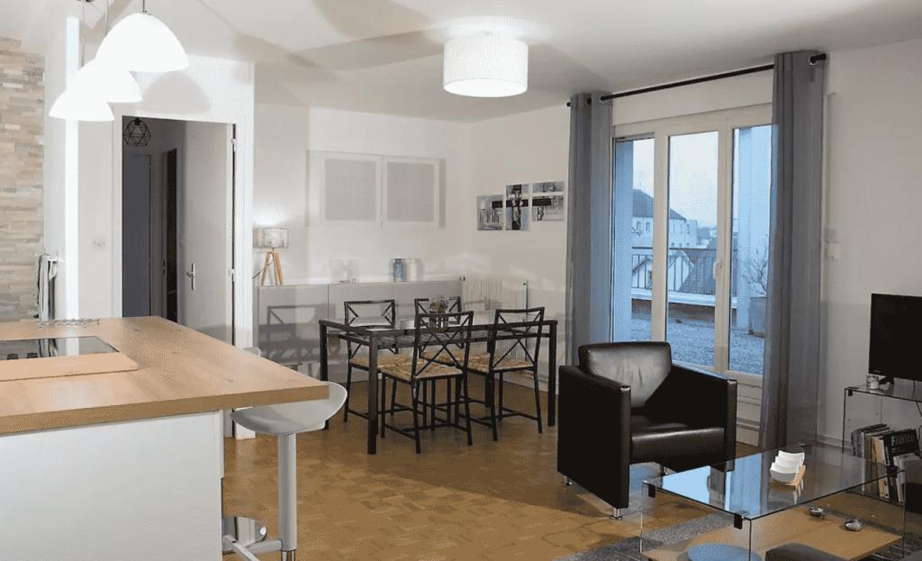 Gîte appartement à Dijon