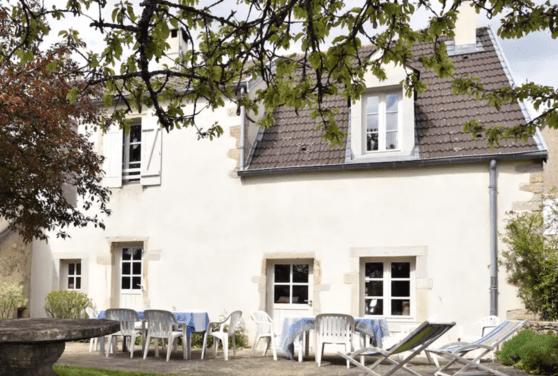 Airbnb Maison de village en Bourgogne