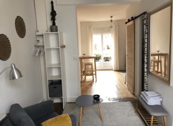 Airbnb studio à Angers