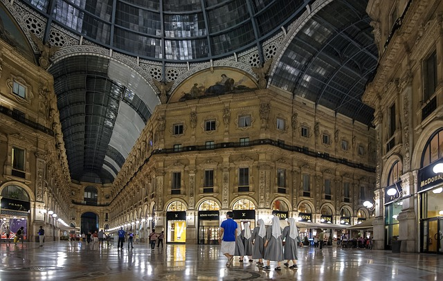 Milano galleria Vittorio Emanuele_gianfrancodebei