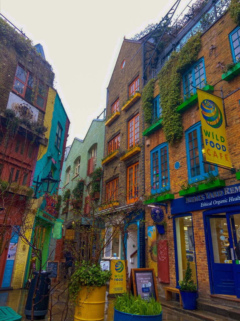 Neal's Yard in Covent Garden - © Ellissar Haider