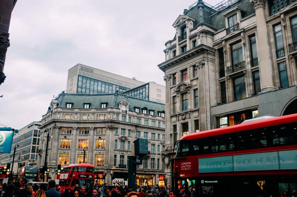 Shops on Oxford Street - © Jay Wennington