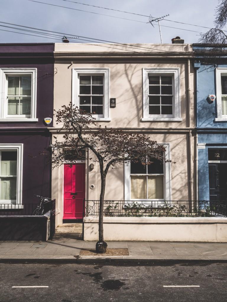 Houses in Notting Hill - © Jonas Tebbe