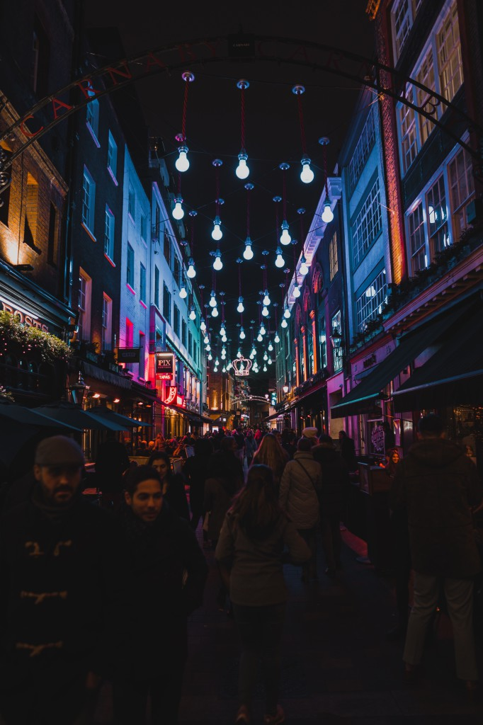 Street after-dark in SoHo  - © Marcel Heli