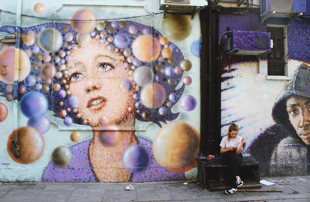 Street Art in Shoreditch - © Toa Heftiba
