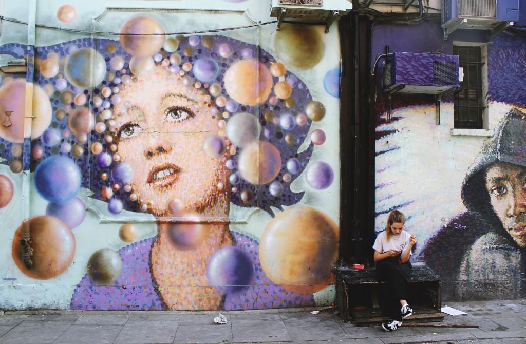 Street Art in Shoreditch - © Toa Heftiba