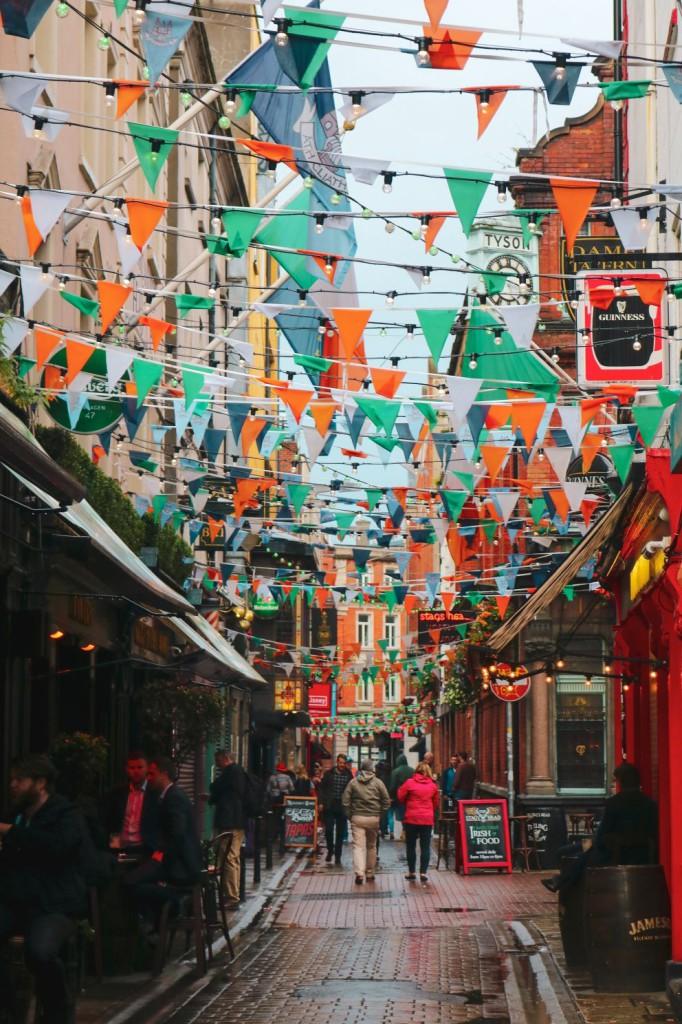 Street in Temple Bar © Anna Church