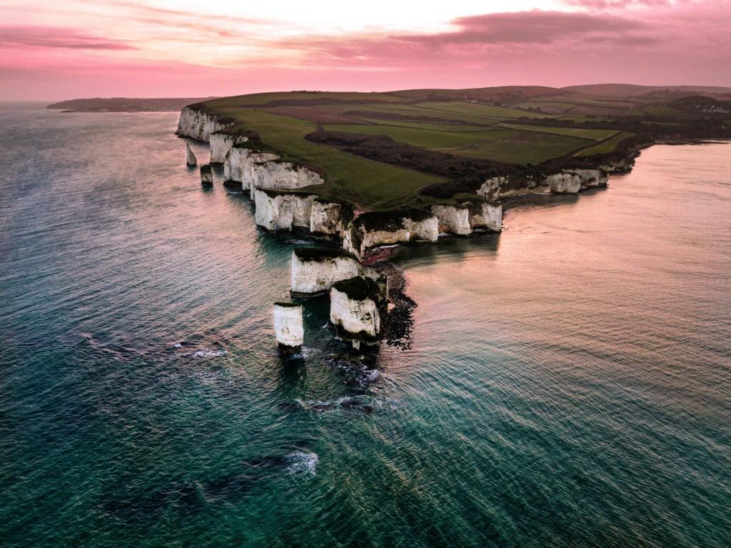 Old Harry's Rocks © John Lockwood