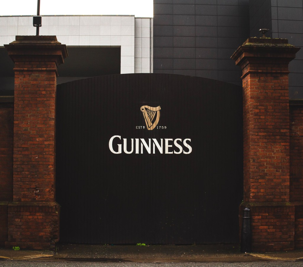 St James's Gate at the Guinness Storehouse © Louis Hansel