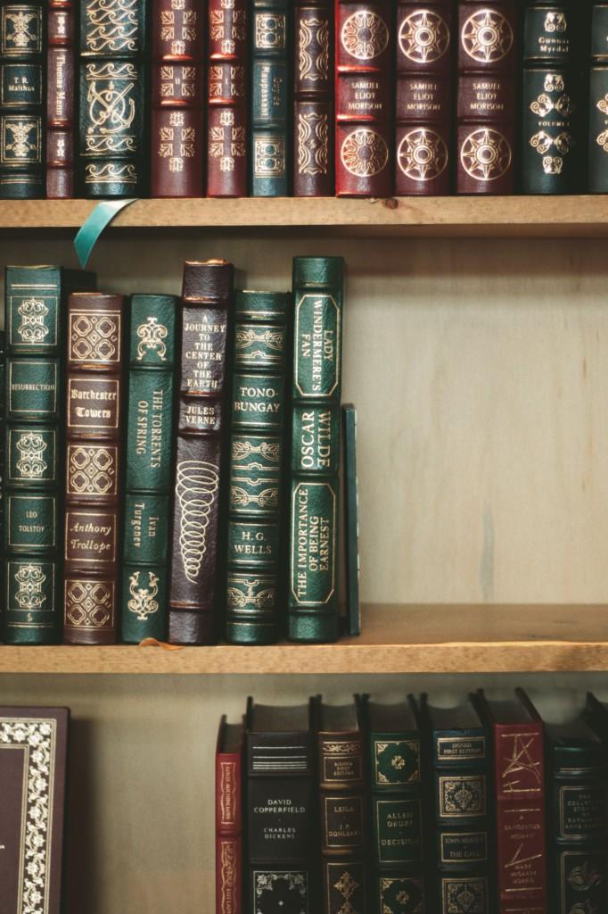 Books by Irish novelists ©Taylor Wright